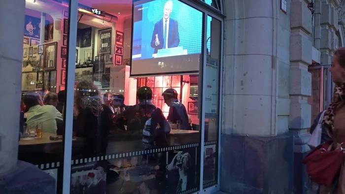 Video: Zuschauer-Befragung: Scholz gewinnt TV-Triell
