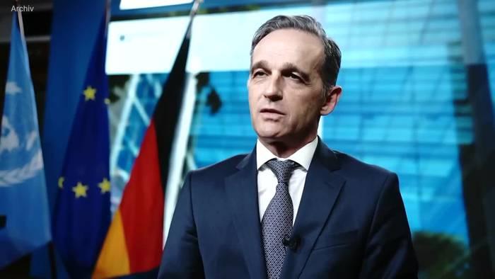 News video: Maas will nicht selbst mit den Taliban reden