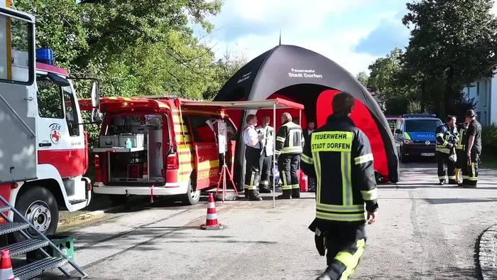 Video: Hochwasser im Norden Oberbayerns: Katastrophenfall in Dorfen