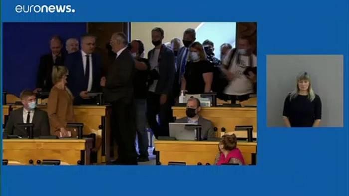 News video: Alar Karis - neuer Präsident für Estland