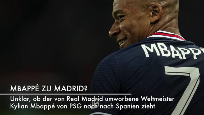 Video: Transferfenster schließt: Mbappé zu Madrid - Moriba zu