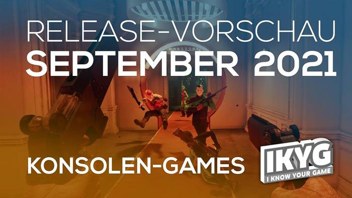 News video: Games-Release-Vorschau - September 2021 - Konsole