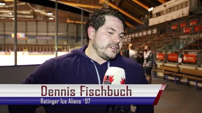 News video: Endlich wieder Eishockey! Große Vorfreude bei Dennis Fischbuch und seinen Ice Aliens