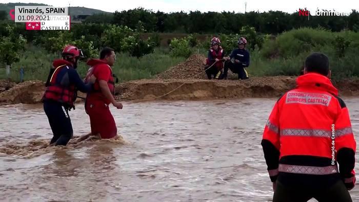 News video: Spanien: Unwetter in 28 Provinzen