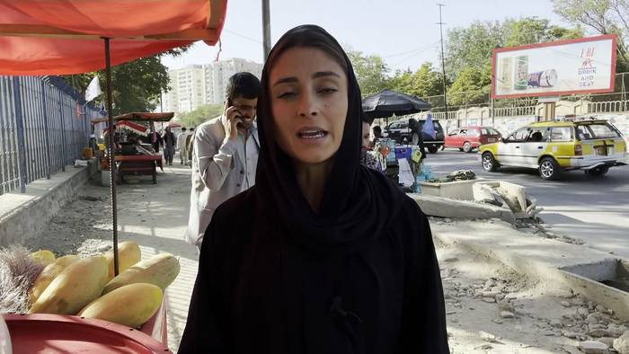 News video: Euronews-Reporterin in Kabul: