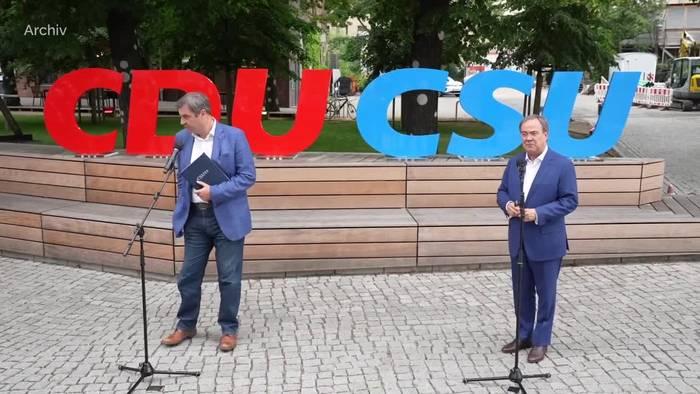 News video: Söder sieht letzte Chance für Wahlsieg der Union