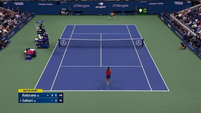 News video: Teenager-Finale bei den US Open: Wem Herzogin Kate die Daumen drückt