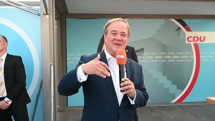News video: Umfrage: Erholung für die Union - SPD verbessert sich auch