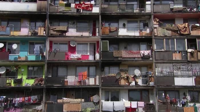 Video: Slowakei: Papst besucht größte Roma-Siedlung in Mitteleuropa