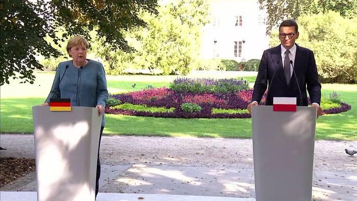 News video: Polen: Merkel kritisiert