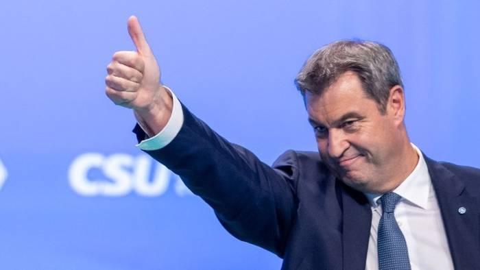 Video: Nach CSU-Parteitag: Söder sieht Chancen für neue GroKo