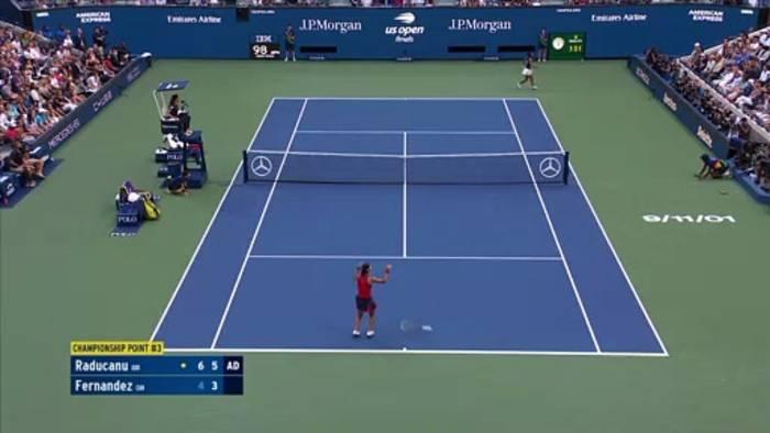 News video: US Open: 18-jährige Raducanu gewinnt im
