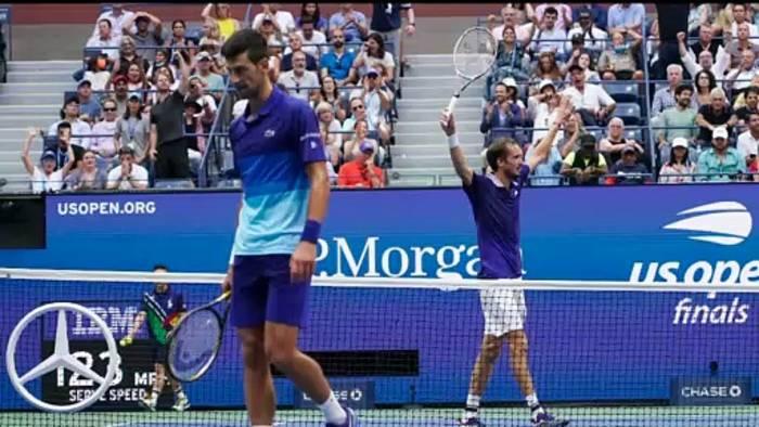 News video: US Open: Daniil Medwedew beendet Triumphzug von Novak Djokovic