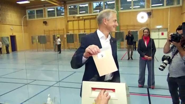 Video: Norwegen wählt neues Parlament - Regierungswechsel wahrscheinlich