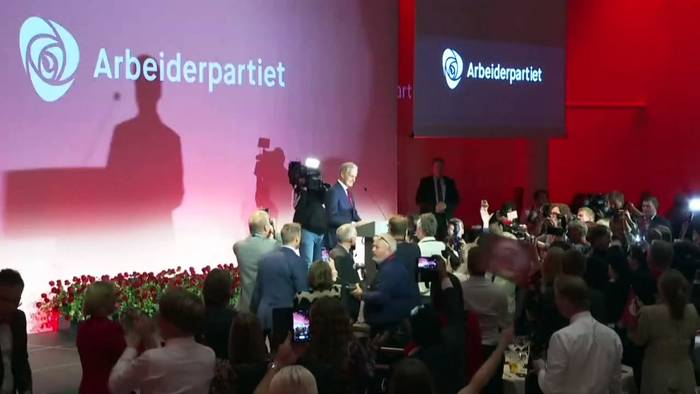 News video: Norwegen wechselt nach links: Wer ist Wahlsieger Jonas Gahr Støre?
