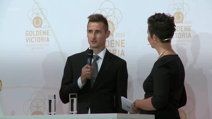 Video: Miroslav Klose bereit für Trainerkarriere