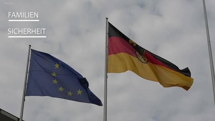 News video: CDU-«Sofortprogramm»: Familien, Sicherheit und Wirtschaft