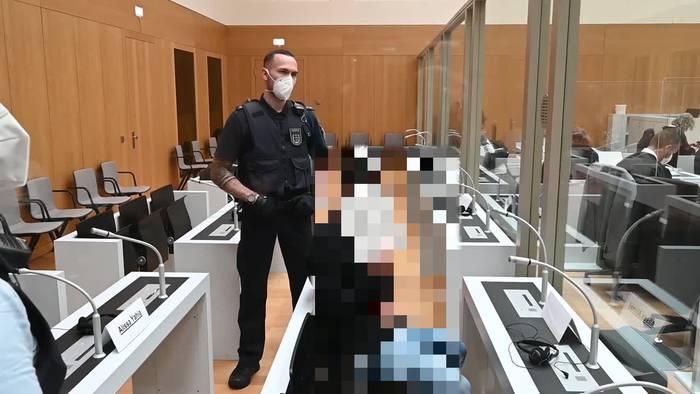 News video: Stuttgart: Blutiger Streit von Großfamilien - Prozessbeginn