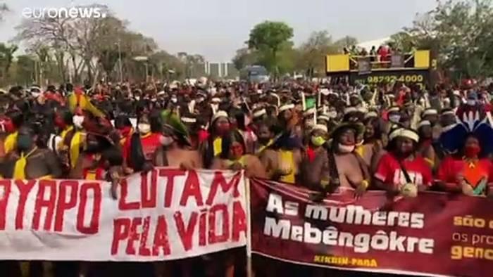 News video: Brief an Bolsonaro: Europa-Abgeordnete sorgen sich um indigene Völker