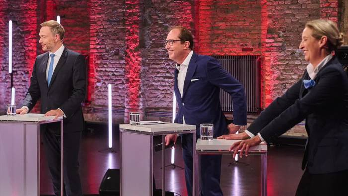 News video: Auf Triell folgt TV-Vierkampf - Streit der kleineren