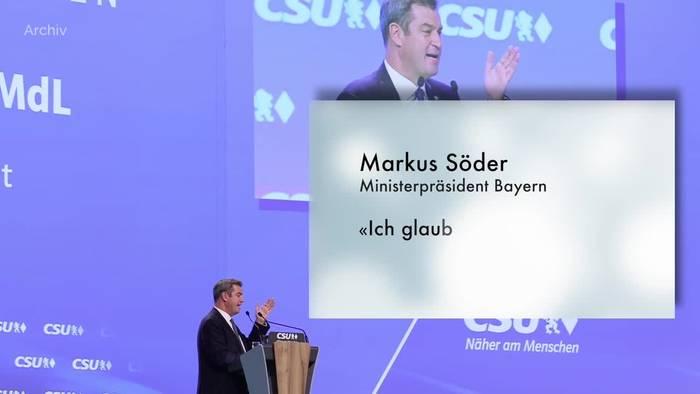 Video: Schulstart in Bayern: Söder glaubt an «sicheres» Schuljahr
