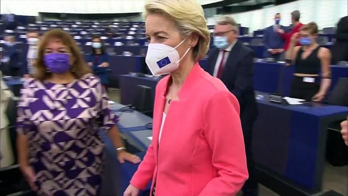 Video: Visionen und Leistungen - von der Leyens Rede zur Lage der Europàischen Union