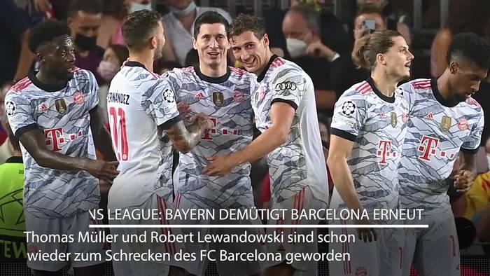 News video: Bayern demütigt Barcelona erneut: Abgeklärtes 3:0