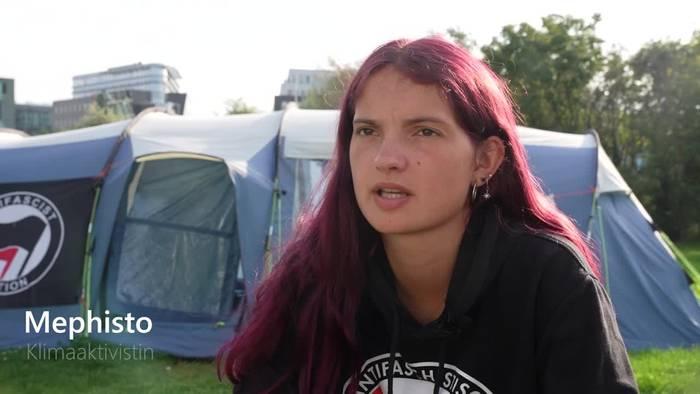 News video: Bis zum Äußersten: Klimaaktivisten im Hungerstreik