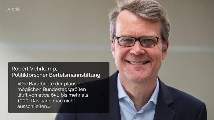 News video: Wächst der Bundestag nach der Wahl auf 1000 Abgeordnete?