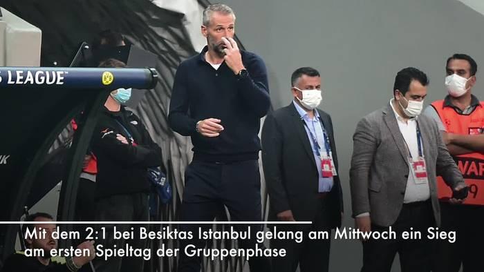 News video: BVB in Champions League mit Auftaktsieg bei Besiktas