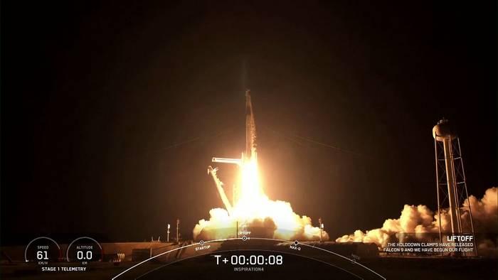 News video: Weltraumtourismus: Erstmals 4 Laien im All