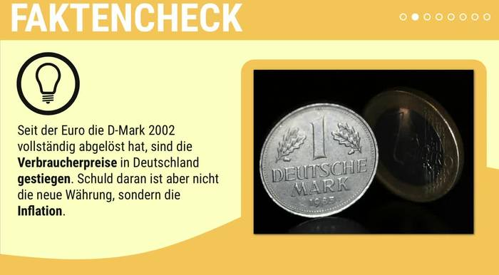 Video: Faktencheck: Euro gleich