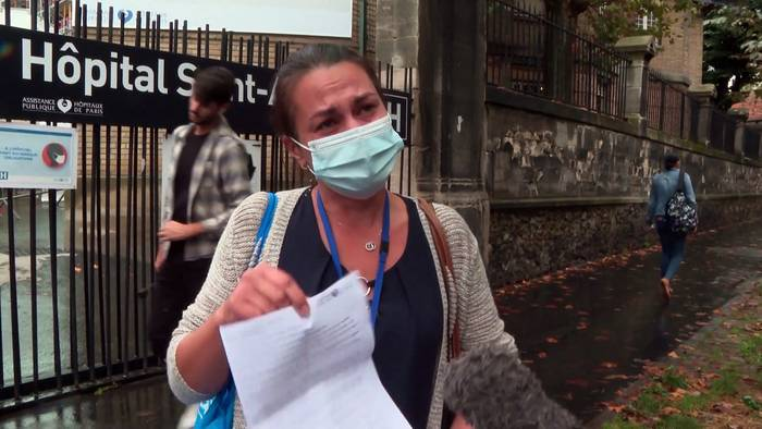 News video: Fehlende Covid-19-Impfung: 3.000 Gesundheitskräfte suspendiert