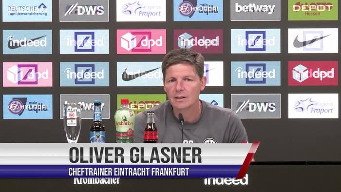 """Video: Eintracht Trainer Oliver Glasner: """"Freue mich auf die Rückkehr nach Wolfsburg"""""""