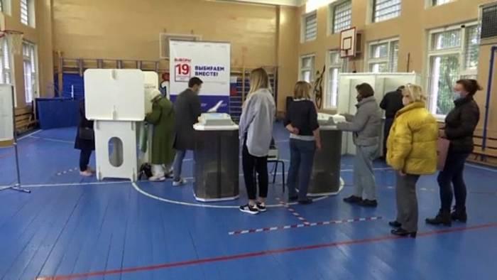 News video: Parlamentswahl in Russland: Putin-Partei Geeintes Russland liegt vorn
