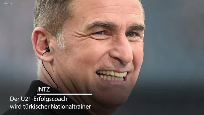 News video: U21-Coach Kuntz geht in die Türkei