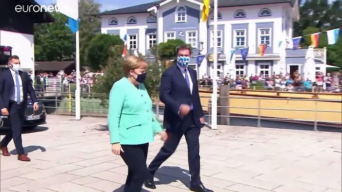 News video: Markus Söder: der Möchtegern-Nachfolger Merkels
