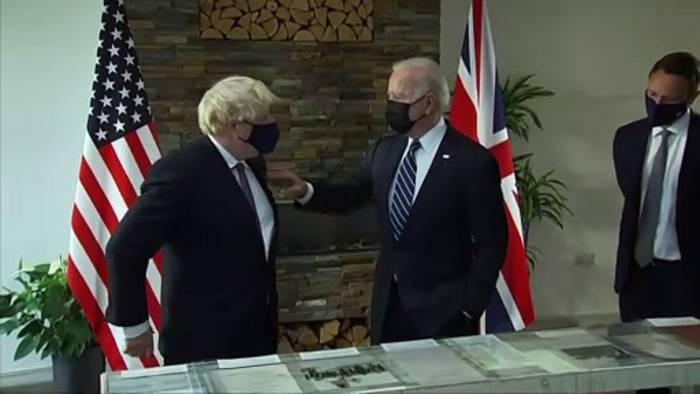 Video: Treffer Mittschiffs: Diplomatisches Aukus-Debakel