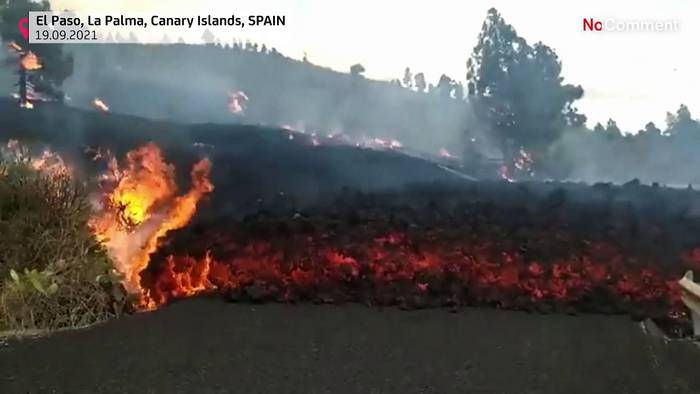 Video: Vulkanausbruch auf La Palma