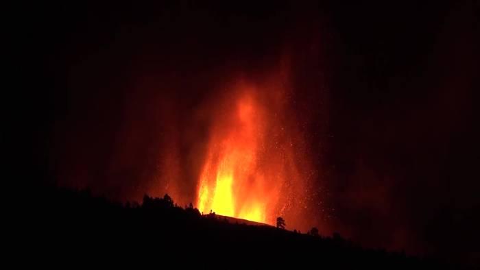 News video: Vulkanausbruch auf Kanaren - Massive Evakuierungen