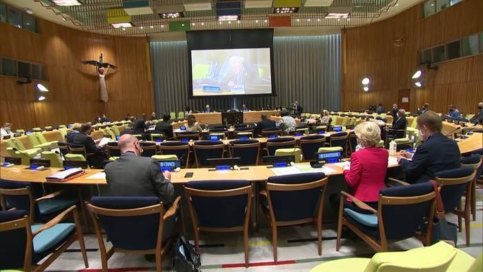 Video: 76. UN-Vollversammlung: #GlobalGoals