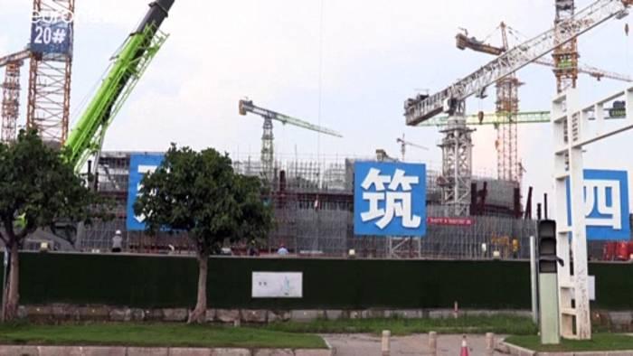 News video: Drohender Kollaps des chinesischen Bauunternehmen Evergrande