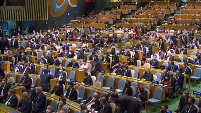 News video: Vorwurf von Alleingängen: Biden wehrt sich in UNO-Rede