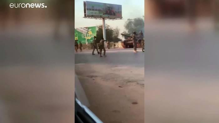 News video: Putsch im Sudan vereitelt