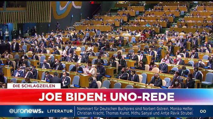 News video: Was heute wichtig und schockierend ist - Euronews am Abend am 21.09.