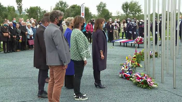 News video: 20 Jahre nach der Chemie-Explosion: Toulouse gedenkt der Opfer