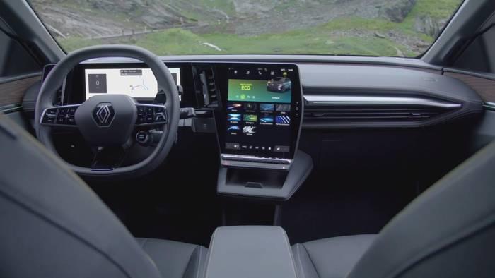 News video: Der neue Renault Mégane E-TECH Electric - Wohnliches Interieur, hoher Akustikkomfort