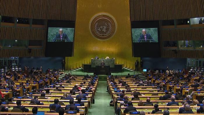 News video: Taliban benennen UN-Botschafter und wollen Redezeit