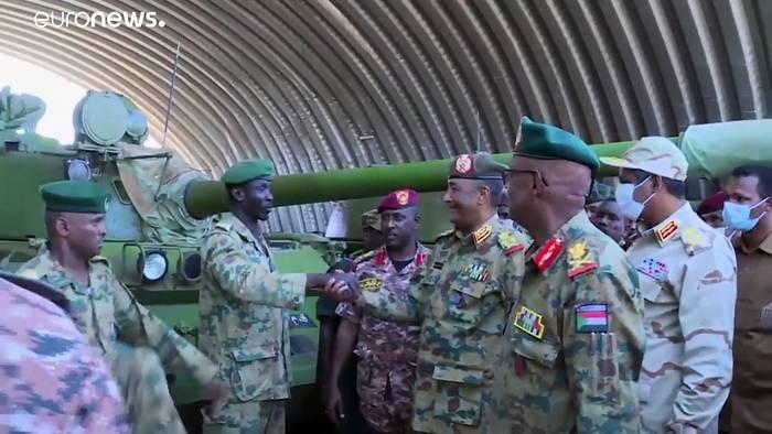 News video: Nach Putschversuch im Sudan: Dutzende Soldaten festgenommen