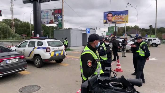 News video: Attentat auf Berater des ukrainischen Präsidenten